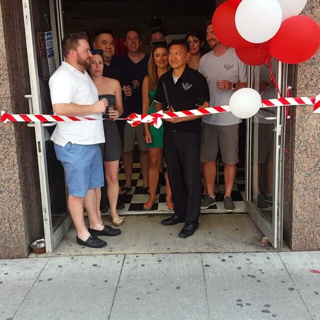 And we're open! #barber #toronto #barbernation #yongestreet #haircut #5carlton #shave #collegettc